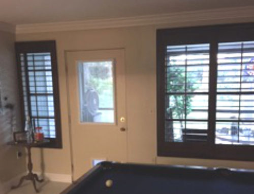 Sarasota, Florida Custom Plantation Shutters